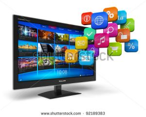 stock-photo-internet-television-concept-widescreen-tv-with-streaming-video-gallery-and-cloud-of-application-92189383