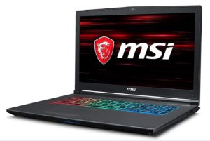 MSIゲーミングノート GF72 8RE-099JP/Windows10/第8世代 Corei7/17.3FHD 120Hz/16GB/128GBSSD+1TBHDD/GTX 1060 6GB