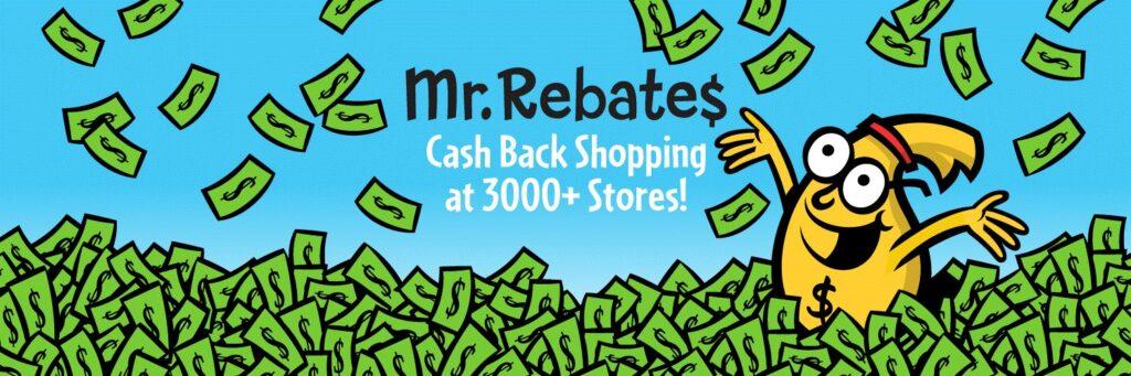 Mr. Rebates(ミスターリーベイツ)でお得にキャッシュバックしよう!